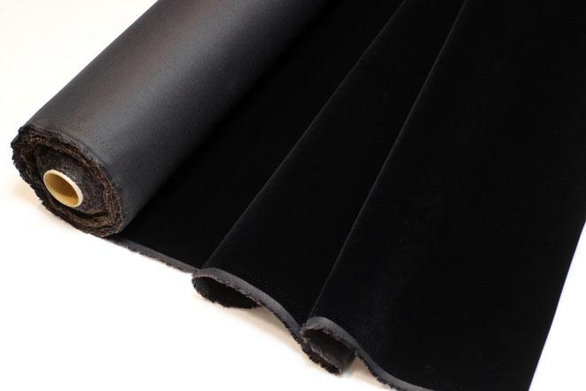 近赤外吸収植毛布 製品写真