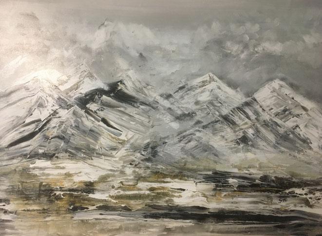 # 182-2021-01-BER03 - Acryl auf Leinwand - 100x70 cm