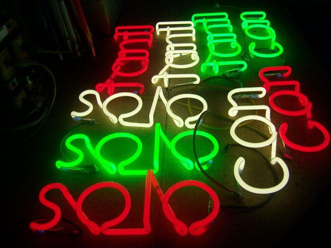 Neonbuchstaben Hersteller// Neon Berlin