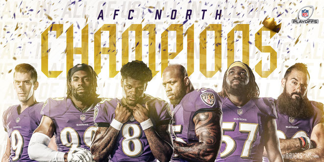 Baltimore Ravens AFC NORTH CHAMPIONS