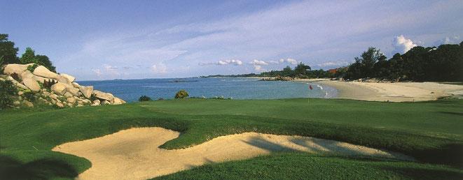 Bintan Lagoon Sea View Course