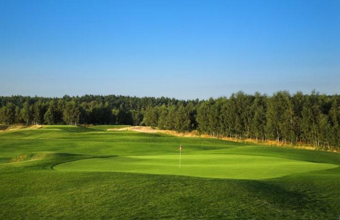 Modry Las Golf Club Loch # 5