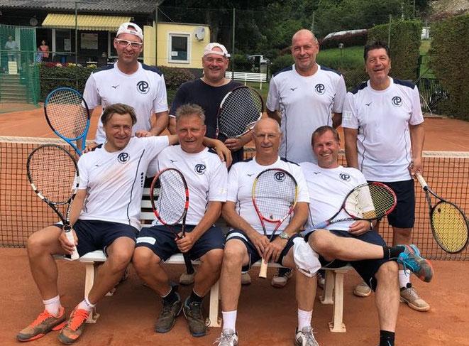 Herren 45+/2: Souveräner Gruppensieger und somit Aufsteiger in Kreisliga C