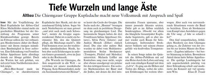 Allgäuer Zeitung vom 12.11.2019