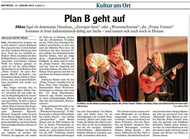 Allgäuer Zeitung-Kaufbeuren vom 14.01.2015