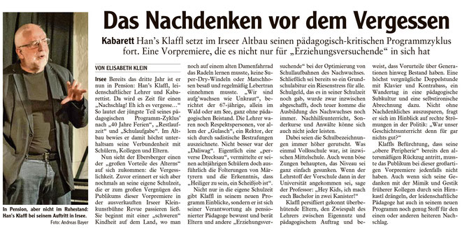 Allgäuer Zeitung-Kaufbeuren vom 15.5.2018