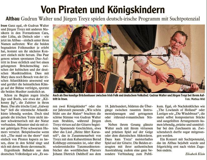 Kleinkunstverein Altbau e.V. - Gudrun Walther & Jürgen Treyz