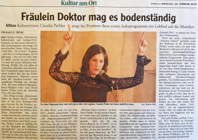 Kleinkunstverein Altbau e.V. - Claudia Pichler