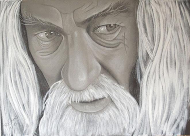 Gandalf, 70x50cm