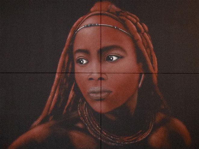 Die Frau ohne Namen..., 160x120cm