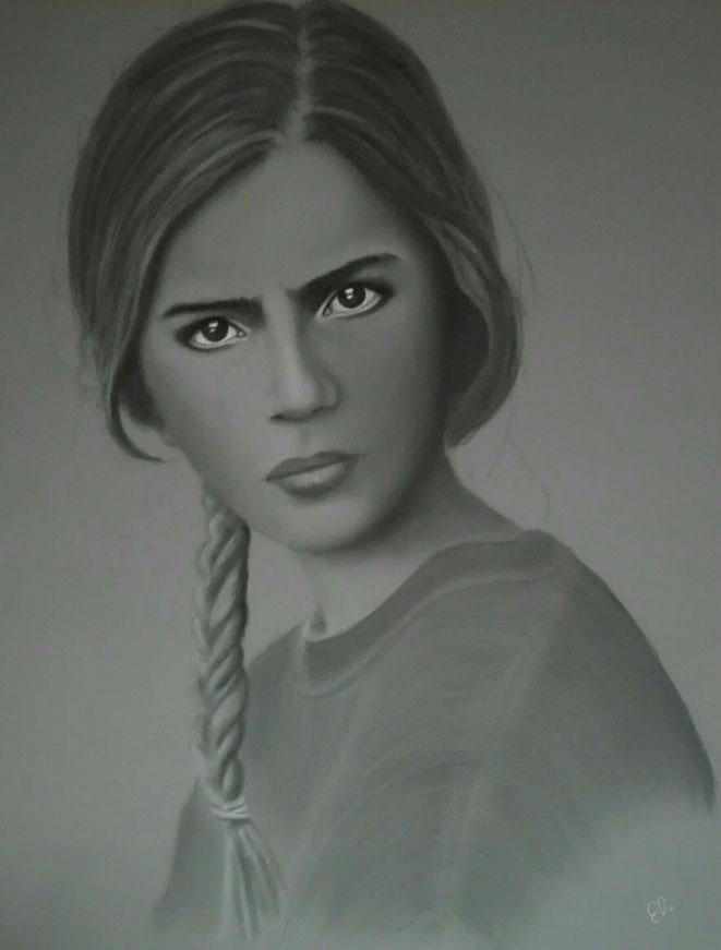 """""""Anna"""", 90x70cm"""