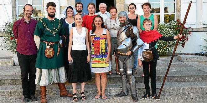 journées européennes du patrimoine Pontivy chateau des rohan Pontivy Escrime artistique