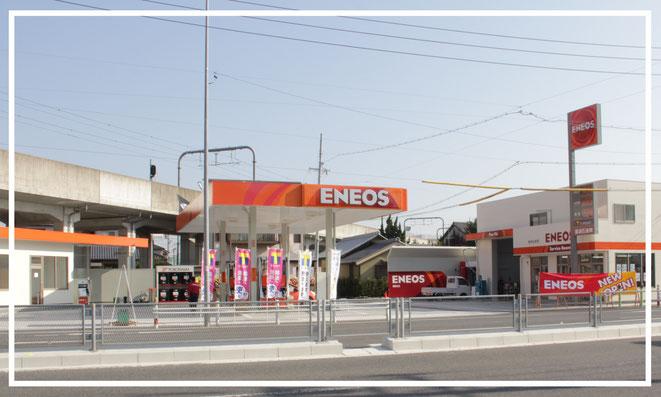 ENEOS諏訪SS/藤浪石油株式会社(愛知県愛西市) 店舗写真