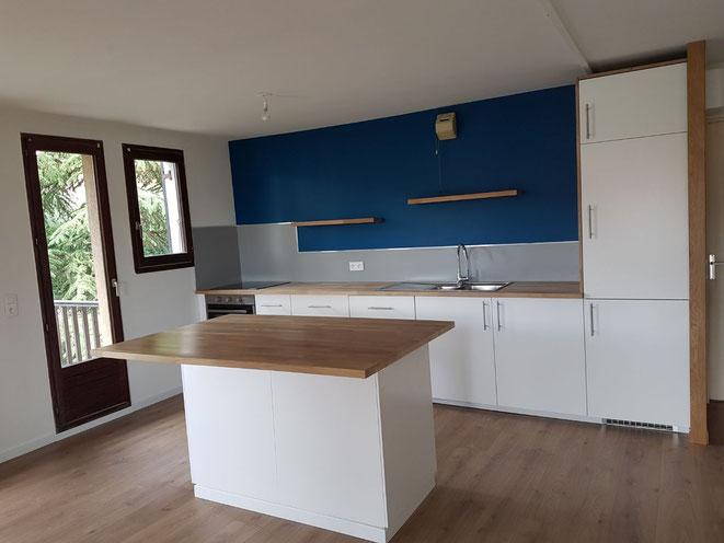 Albertus rénovation d'une cuisine et parquet à gap 05000