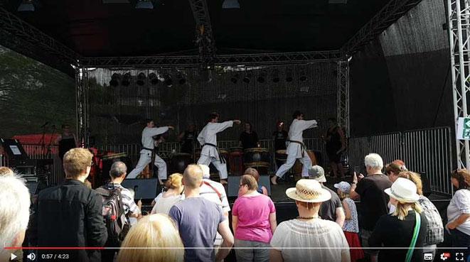 Auftritt in Mettmann  - Regiobahn-Fest Mettmann 2017