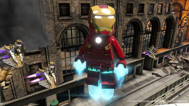 Lego, Marvel, Avengers, Chitauri, Iron Man