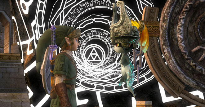 Zelda, Link, Twilight Princess, Wolf, Midna, Hyrule, HD, Remake, WiiU