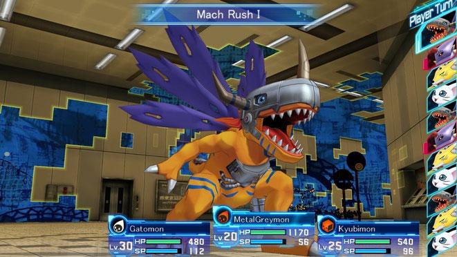 Metal Greymon, Gatomon, Digimon, Agumon, Digimon Story, Cyber Sleuth, Bandai Namco