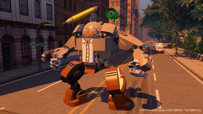 Lego, Marvel, Avengers, Stan Lee, Stanbuster