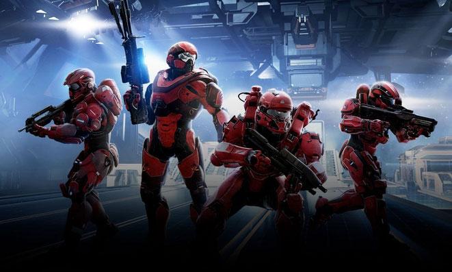 Online verhält sich Halo wie gewohnt - Red vs. Blue