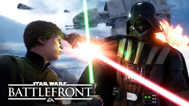 Luke vs. Vader. Immernoch episch.