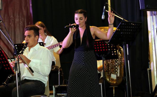 Nikita Mataln imponierte mit ihrer famosen Stimme