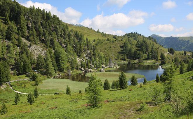 Windebensee (1950 m) mit Naturlehrweg