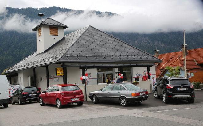 Filiale im umgebauten Feuerwehrhaus