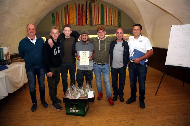 1. Platz - Perchtengruppe Steinfeld