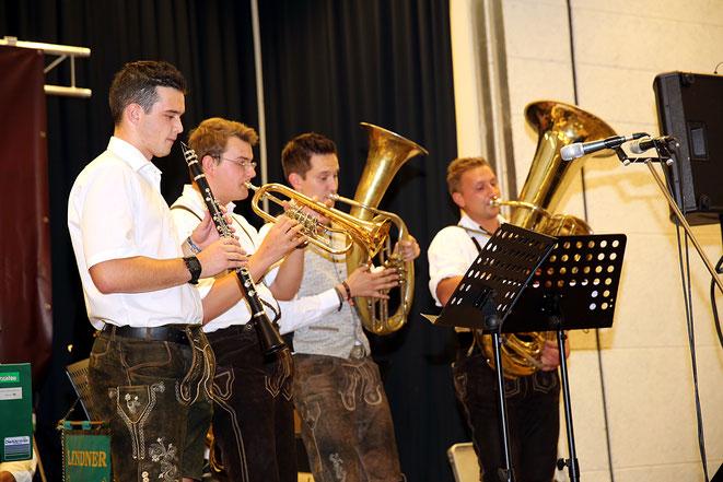 das Jägermeister Quintett diesmal als Quartett
