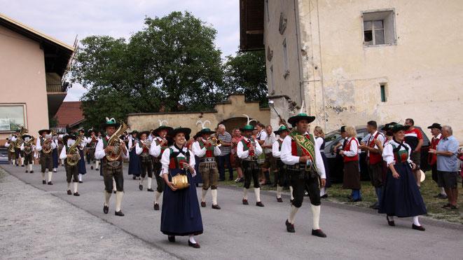 ein Glanzlicht dieses Musikerfestes war die TK Taisten aus Südtirol