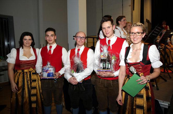 von li: Lisa Linder - Lukas Klocker - Franz Wirth - Erich Kramer - Alexandra Mandler