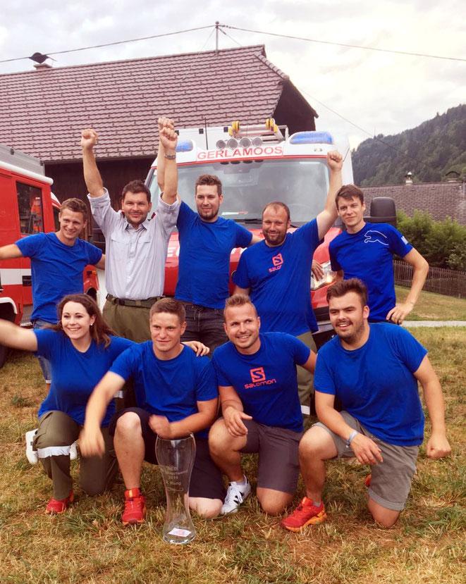 die erfolgreiche Mannschaft von Gerlamoos 1