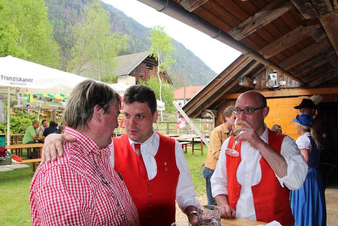 v. li: Nationalpark-Urvieh - Brunner H. - Wirth F.