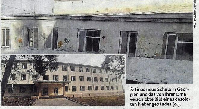 das desolate Gebäude ist in Wirklichkeit ein Materiallager !!