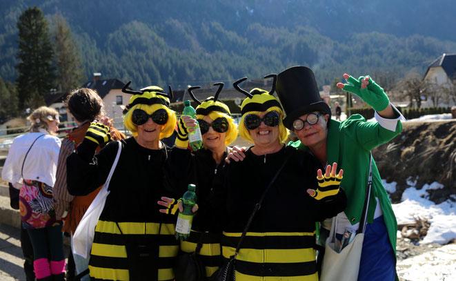 """auch die """"Biene Maja"""" durfte nicht fehlen"""