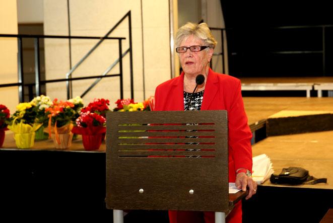 Obfrau Maria Wiesflecker berichtete über die Tätigkeiten der Ortsgruppe im vergangenen Jahr