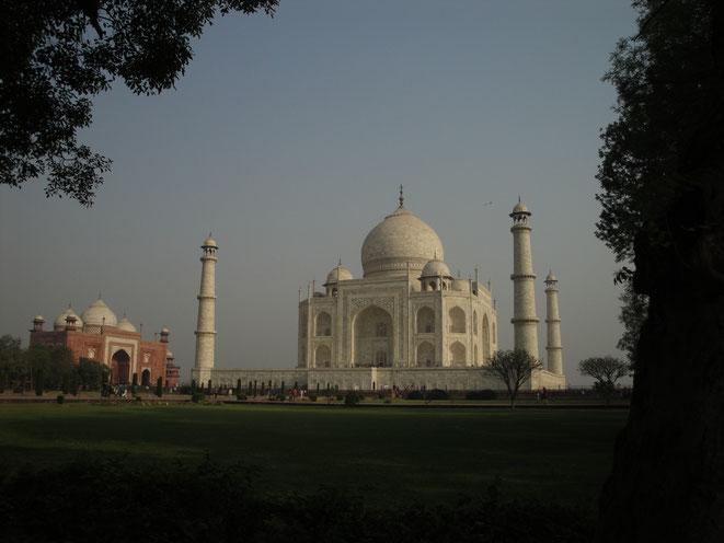 Von zeitloser Schönheit: Das Taj Mahal, millionenfach fotografiert