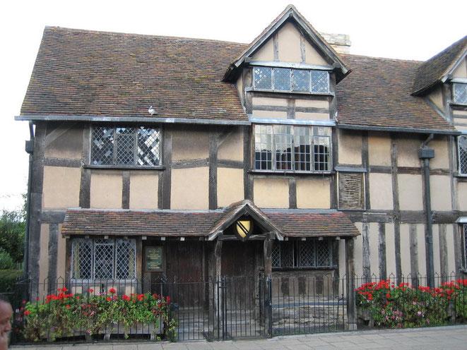 Geburtshaus von William Shakespeare (1564)