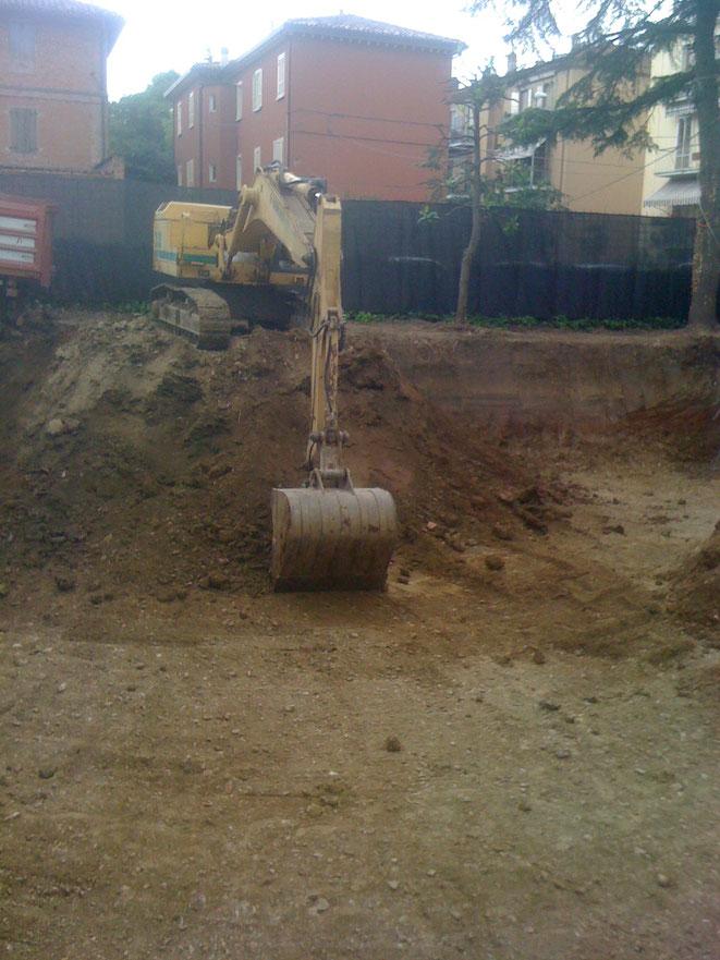 scavo di sbancamento
