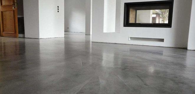 suelo de microcemento en casa
