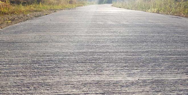 pavimento Hormigón rayado decorativo