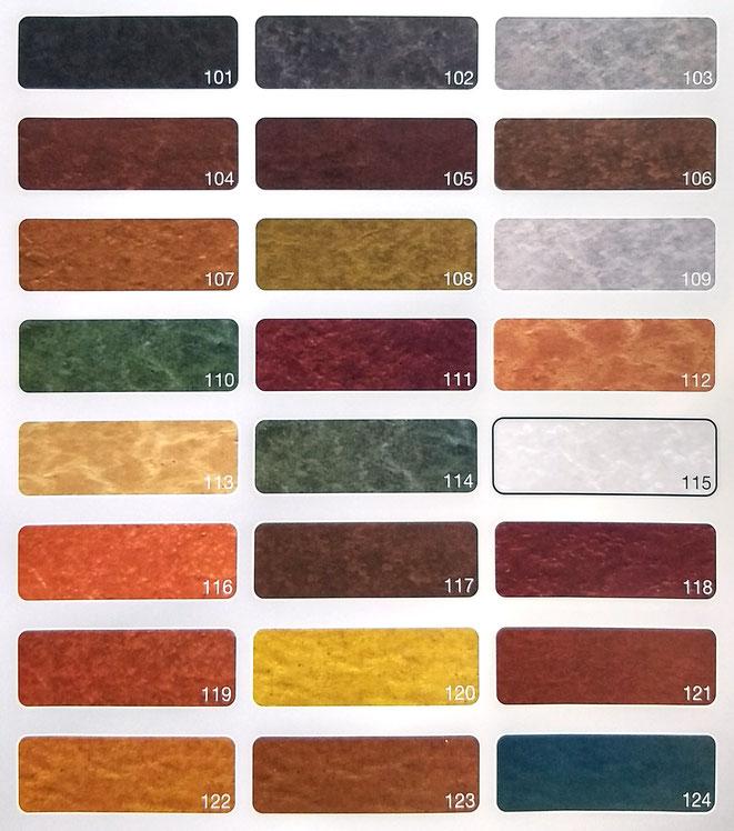 Carta colores cemento impreso en Madrid