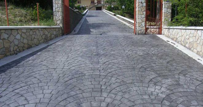 pavimentos de Hormigón impreso en Soria