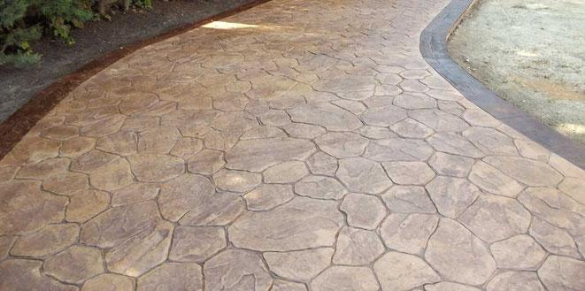 pavimentos de Hormigón impreso en Santiago de Compostela
