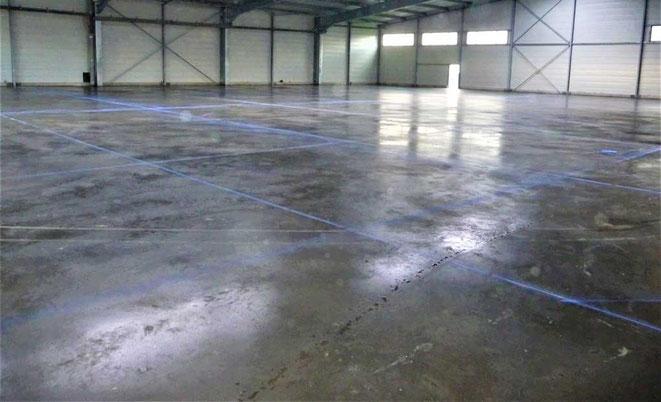 suelo Hormigón pulido interior zonas industriales
