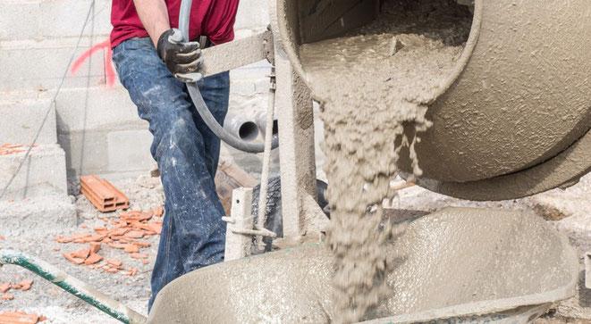 Hormigón ordinario y cemento
