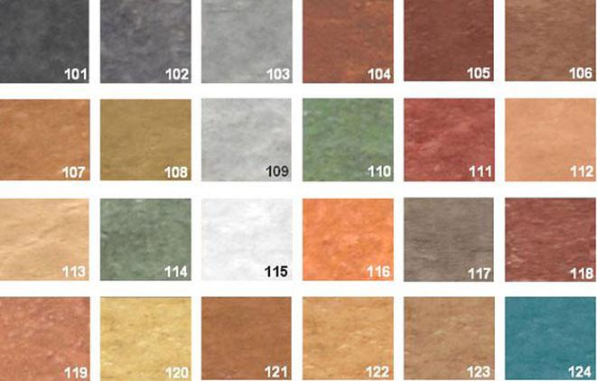carta colores hormigon