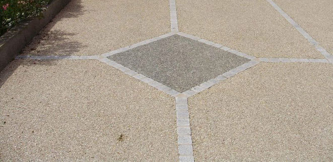 pavimento desactivado - arido visto