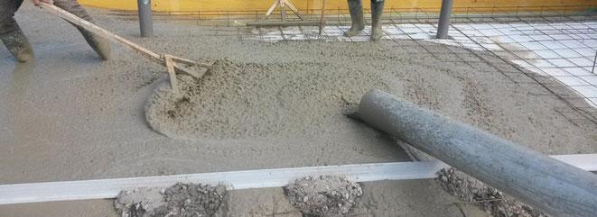 hacer una losa de cemento